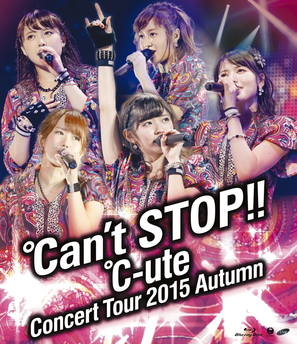 ℃-ute「ツアー2015秋 ℃an't STOP!!」Blu-ray